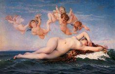 Birth of Venus, Alexandre Cabanel, 1863