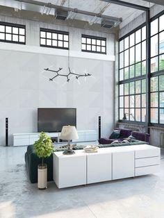 Industrial, lofty space