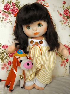 I love this My Child Doll - still looking for a brunette!