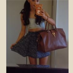 .@Ariana Grande | Worst quality pic but here's what I wore to the first radio station in Tampa.... | Webstagram - the best Instagram viewer
