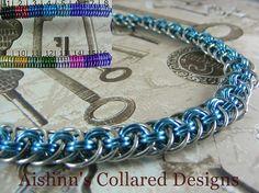 Viperbasket BDSM Slave Collar Choker Necklace by aislinnscollared