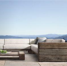 Aspen Three-Seat Left/Right-Arm Sofa Cushions