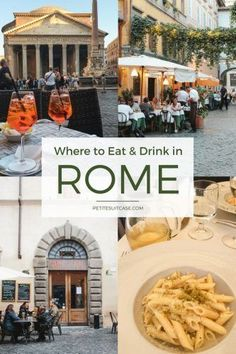 Where to Eat and Drink in Rome | Italy Travel Tips #italy #traveltips