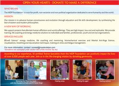 Open your Hearts and Make a Difference!
