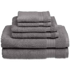 product image for Welspun HygroSoft 6-Piece Towel Set