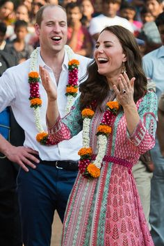 Pin for Later: 34 Delightful Candid Pictures From William and Kate's Latest Royal Tour