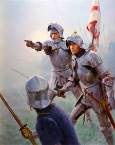 Challenge in the Mist - At dawn on Easter Sunday, 14th April 1471, the armies of Edward IV and his one time ally, Richard Neville, Earl of Warwick, confronted each other near Barnet, 10 miles outside London