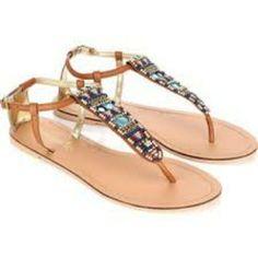 Indigo Rd. Embroidered Sandals