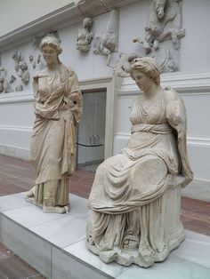 Statues from the Pergamon altar, Pergamon Museum Berlin | da Following Hadrian