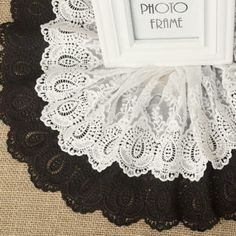 3Yards Mesh Embroidery Lace Trim For Craft Decorating Wedding Lace Width 20cm
