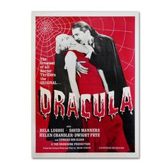 """Found it at Wayfair - """"Dracula"""" Vintage Advertisement on Wrapped Canvas"""