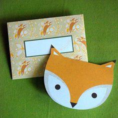super cute fox printable $3.00