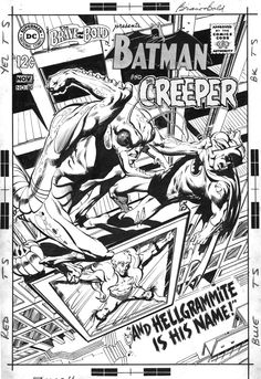 Neal Adams and Dick Giordano Brave and the Bold 80 Page 7 1968