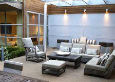 #Outdoor modern #patio by Sara Cukerbaum