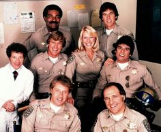 Cast members of CHiPs.