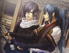 Hakuouki Shinsengumi Kitan: Saitou Hajime & Ibuki Ryunosuke