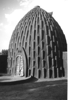 Musgum tribal architecture (Cameroon and Chad). Lecture at The School of Architecture at McGill University, Quebec.