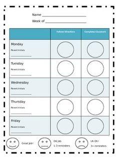 Behavior Clip Chart  Sticker Charts Jungle Theme  Behavior Clip
