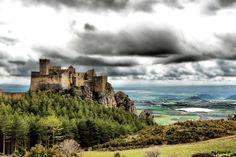 Castillo de Loarre, Huesca, España