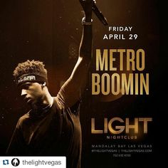 #Repost @thelightvegas with @repostapp ・・・ @MetroBoomin wants some more... Catch him back at LIGHT on Friday, April 29!  Ticket link in our bio.