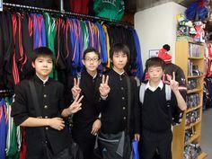 【新宿2号店】 2012年11月7日 山形県から修学旅行でご来店下さった皆さんです!