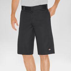 Dickies Men's Relaxed Fit Twill 13 Multi-Pocket Work Short- Black 34