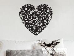 Romanticos : Coração floral