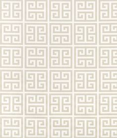 Family Room Curtains:  Premier Prints Towers Sherbet/Gray Twill Fabric - $7.45 | onlinefabricstore.net