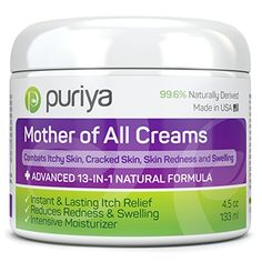 Puriya Cream For Eczema, Psoriasis, Rosacea, Dermatitis, Shingles and Rashes. Powerful 13-in-1 Natural Formula Provides Instant and Lasting Relief For Severely Dry, Cracked, Itchy, or Irritated Skin - http://alternative-health.kindle-free-books.com/puriya-cream-for-eczema-psoriasis-rosacea-dermatitis-shingles-and-rashes-powerful-13-in-1-natural-formula-provides-instant-and-lasting-relief-for-severely-dry-cracked-itchy-or-irritated-skin/