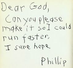 Children Letters To God - When kids write letters to God. ... That is Finn and Jake from Adventure Time, a children's show on Cartoon Network.