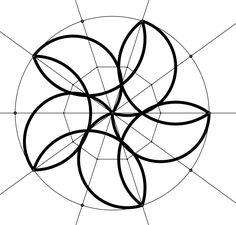 Geometric Drawing, Mandala Drawing, Mandala Painting, Mandala Art, Geometric Shapes, Form Drawing, Sacred Geometry Art, Mandala Stencils, Maila
