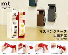 MT Tape Cutter/Dispenser for Washi Tape/Masking by TheLovelyDesk