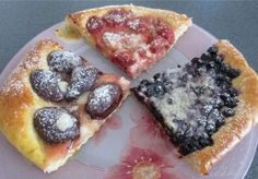 Snack Recipes, Cooking Recipes, Snacks, Czech Recipes, Flatbread Pizza, Sweet Desserts, Foodies, French Toast, Sweets