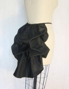 The Secret Boutique Victorian Mini Bustle Black One size fits most xs-plus size