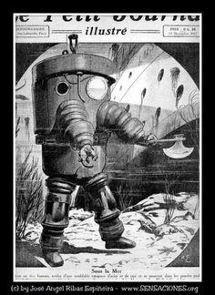 The History Of Diving III / La historia del buceo III