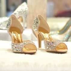 Bling prom sandal Handmade brown prom shoesBrown by ANGELBLINGBOX, $129.00
