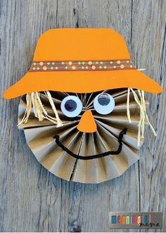 Celebrate the fall season with your little ones with this fun and creative kids' craft. The kiddos will have a blast with this imaginative art project, and you'll love hanging their beautiful masterpieces around your home for some seasonal decor.