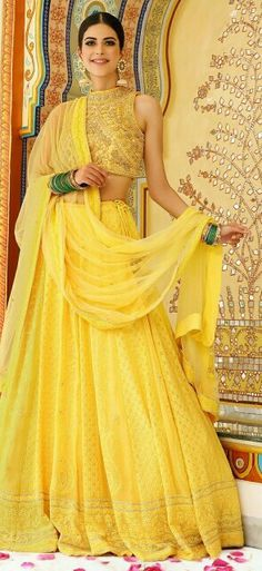 best outfit for Haldi ceremony