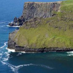Cliffs of Moher Ireland - Babetts Bildergalerie - Canvas Artwork Cliffs Of Moher, Floating Frame, Stretched Canvas Prints, Canvas Artwork, Wood Print, Picture Show, Water, Outdoor, Ireland