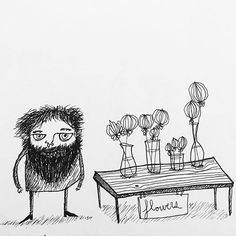 flower exhibition  #drawing #illustration #sketch #sketchbook #comic #flowers #garden Bee Drawing, Flowers Garden, Sketch, Comics, Drawings, Illustration, Sketches, Drawing, Comic