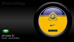 Al-Nassr FC Riyadh - Veja mais Wallpapers e baixe de graça em nosso Blog. Visite-nos http://soccerflags.tumblr.com