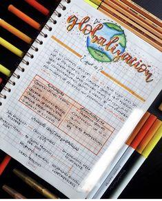 Ideas para apuntes - Rebel Without Applause Bullet Journal School, Bullet Journal Notes, Bullet Journal Ideas Pages, Cute Notes, Pretty Notes, Class Notes, School Notes, Note Taking Tips, School Notebooks