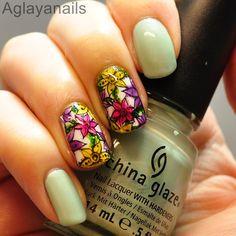 Aglayanails: 40 Great Nail Art Ideas: Spring