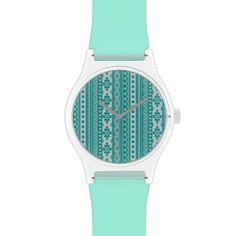 #mixed #borders Aqua #watch