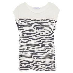 Regata listras zebra - off white