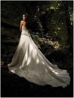 Wedding Dresses Wedding Dresses - Style 8625 [201101613] - catedral - $186.99 :