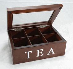 Wooden Tea Box, Tea Storage Gift Box