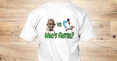 Ghandi Vs Roadrunner - VS Who's Faster? T-Shirt from Penguin's Knees Productions | Teespring