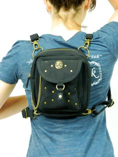 Punky Canvas Holster Pack Thigh Holster Protected by WCCouture