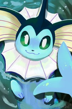 Eeveelution Paintings made by OrcaOwl Gif Pokemon, Pokemon Eevee Evolutions, Pokemon Fan Art, Nintendo Pokemon, Cool Pokemon Wallpapers, Cute Pokemon Wallpaper, Pikachu, Pokemon Painting, Chibi Kawaii